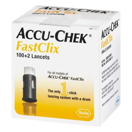 accu chek lancets how to use