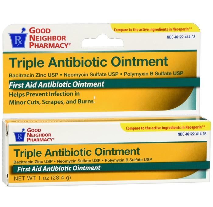 Triple Antibiotic Ointment (Good Neighbor Pharmacy), 1 oz