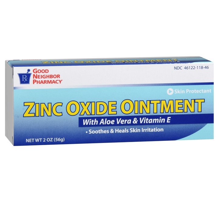 Zinc Oxide Ointment With Aloe Vera Amp Vitamin E Good