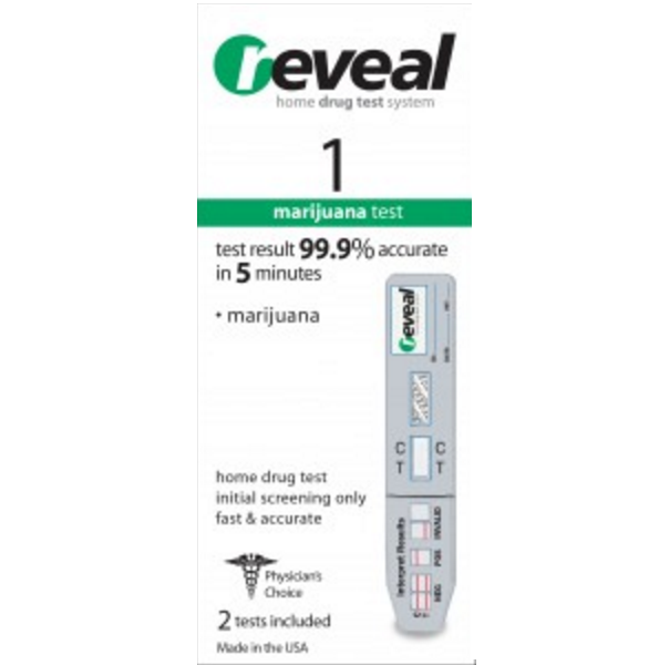 At Home Drug Test >> Marijuana Rt Thc At Home Drug Test Kits Reveal 2 Test