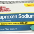 Compare to Aleve Pain Reliever/Fever Reducer Naproxen 220mg Softgel Capsules