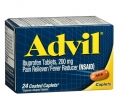 Advil Ibuprofen Tablets, 200mg