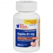Enteric Safety Coated Aspirin 81mg