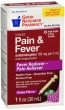 Compare to Tylenol Infants' Pain and Fever Relief Grape Flavor Oral Suspension