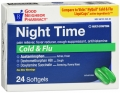 Compare to Nyquil Nighttime Cold & Flu Relief Softgel Capsules