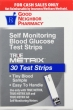 True Metrix Glucose Test Strips, 30 count
