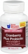 Compare to AZO Cranberry Plus Probiotic Urinary Tract Support Supplement