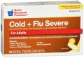 Compare to Tylenol Cold+Flu Severe Relief Caplets