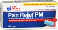 Compare to Tylenol Extra Strength Pain Relief PM Caplets