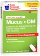 Compare to Mucinex DM Maximum Strength Mucus and Cough Relief Tablets