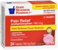 Compare to Tylenol Children's Fever Reducer and Pain Relief Chewable