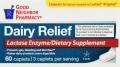 Compare to Lactaid Dairy Relief Lactase Enzyme Caplets