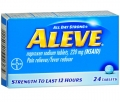 Aleve Pain Reliever/Fever Reducer Naproxen Sodium Tablets
