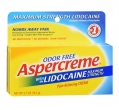 Aspercreme Maximum Strength Lidocaine Pain Relieving Creme