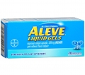 Aleve Liquid Gels Naproxen Sodium Capsules 220 mg