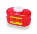 BD Sharps Containers 305488 Funnel Vented Cap, 3.3 Quart