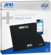 Connected Weight Scale Black UC-352BLE(A&D)