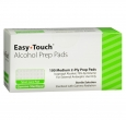 Easy Touch Alcohol Prep Pads, 100 count