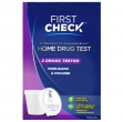 First Check Home Drug Test Marijuana & Cocaine 2 Drugs Tested, 1 count