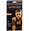 KT Tape, Recovery+ Patch, Black
