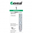 Marijuana RT-THC At Home Drug Test Kits(Reveal), 2 Test Included