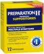 PREPARATION H SUPPOSITORY