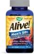 Alive! Men's 50+ Multivitamin Gummy Supplement