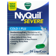 NyQuil Severe Cold & Flu LiquiCaps