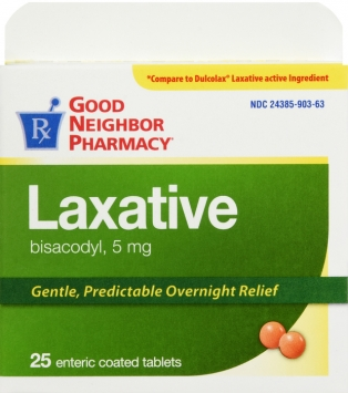 Compare to Dulcolax Gentle Laxative Tablets