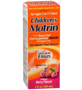 Motrin Children's Ibuprofen Oral Suspension