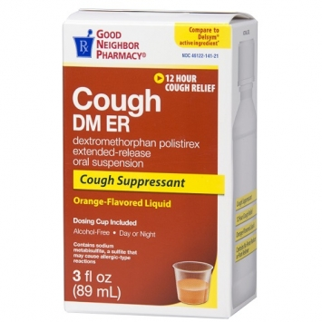 Extended Release Cough Relief Liquid