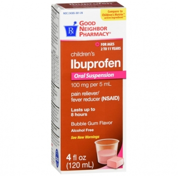 Children's Ibuprofen Oral Suspension