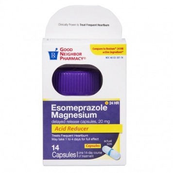 Delayed Release Esomeprazole Acid Reducer