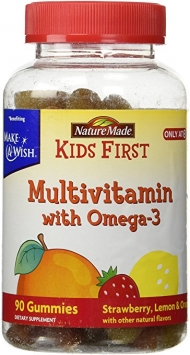 Kid's First Multivitamin with Omega-3 Supplement