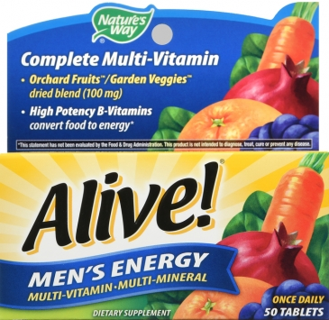 Alive! Men's Energy Multivitamin Supplement