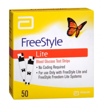 Freestyle Lite Test Strips (Abbott)