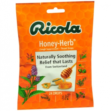Cough Suppressant & Throat Drops (Ricola)