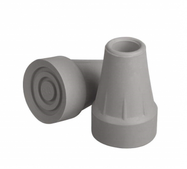 Tip Crutch G00842 7/8 Inch Gray, 2 count