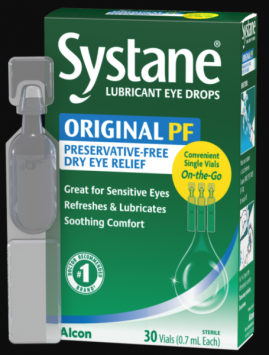 Systane Preservative-Free Lubricant Eye Drops