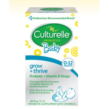 Culturelle Baby Grow +Thrive Drops Probiotic and Vitamin D drops