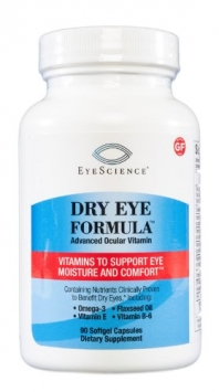 EyeScience Dry Eye Formula Eye Vitamin Supplement