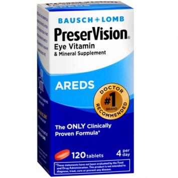 PreserVision Eye Vitamin Tablets