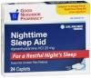 Compare to Simply Sleep Nighttime Sleep Aid Caplets