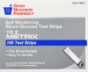 True Metrix Glucose Test Strips (Good Neighbor Pharmacy), 100 count