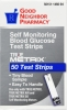 True Metrix Glucose Test Strips (Good Neighbor Pharmacy), 50 count