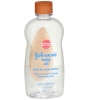 Baby Oil With Shea & Cocoa Butter (J&J), 14 oz